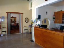 Ξενοδοχείο Αλέξανδρος - Είσοδος εστιατορίου, μπαρ