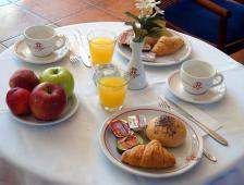 Ξενοδοχείο Αλέξανδρος - Πρωινό